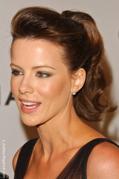 Kate Beckinsale Updos for Prom - Prom Hairstyles - Zimbio