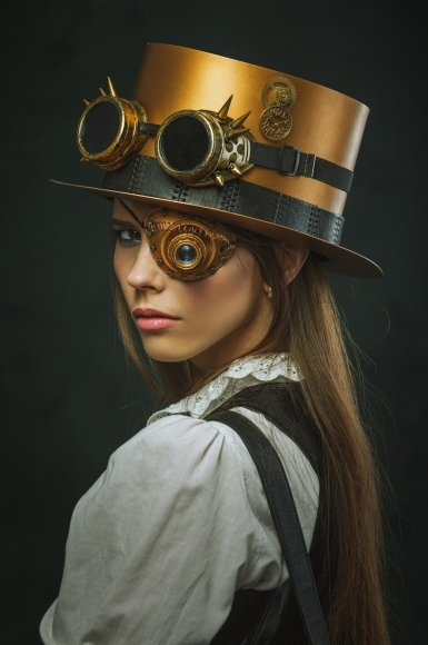 Ukher Com Women S Steampunk Hairstyles Designed To Be